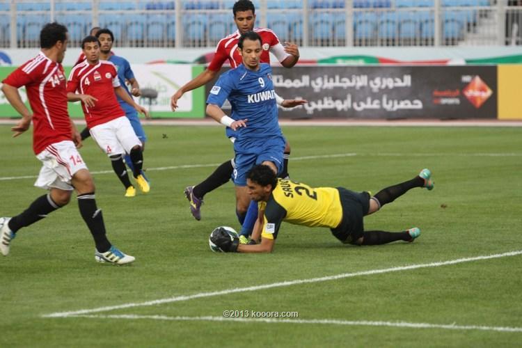 مباراة الكويت البحرين