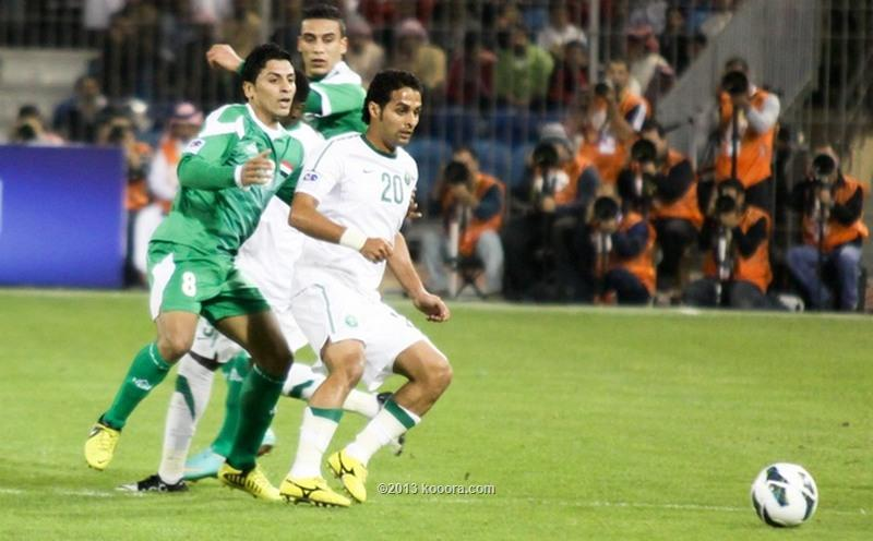 مباراة العراق السعودية الخليج
