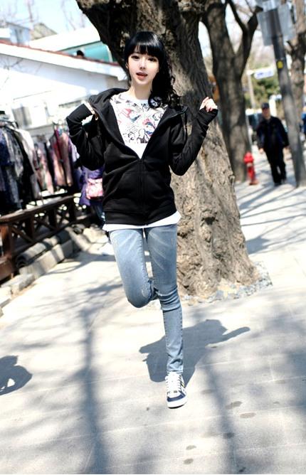 الموضة الكورية للمراهقات 2014