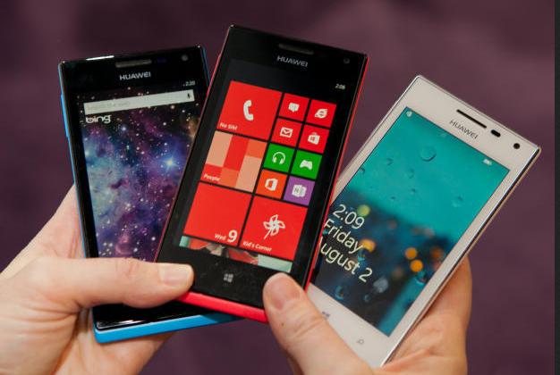 الهواتف الذكية 2013