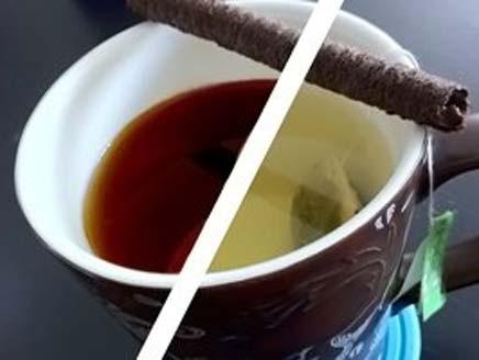 الشاي الاخضر والاسود