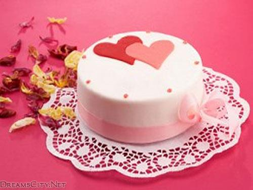تورتات رومانسية الورود تورتة رومانسية