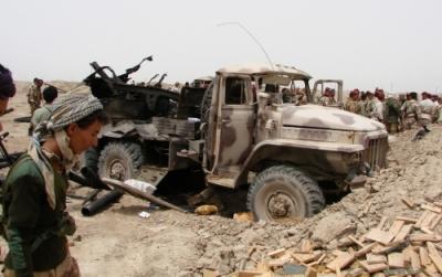 اخبار القاعدة تتحرش الجيش والأمن