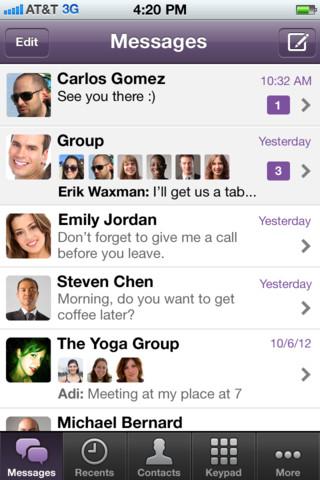 تحديث لتطبيق Viber لإرسال رسائل للمجموعات ومميزات