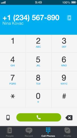 تطبيق Skype Communications S.a.r. للايفون