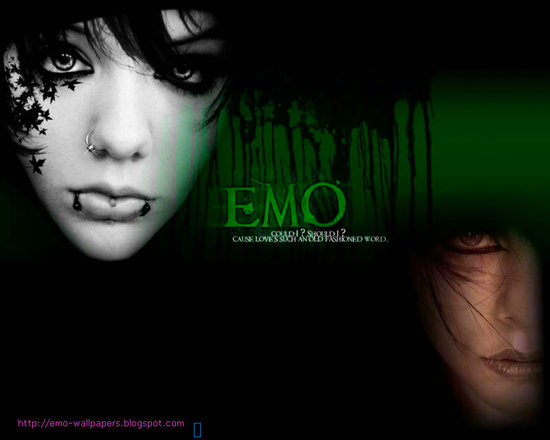 خلفيات ايمو للكمبيوتر Emo Wallpaper 2012