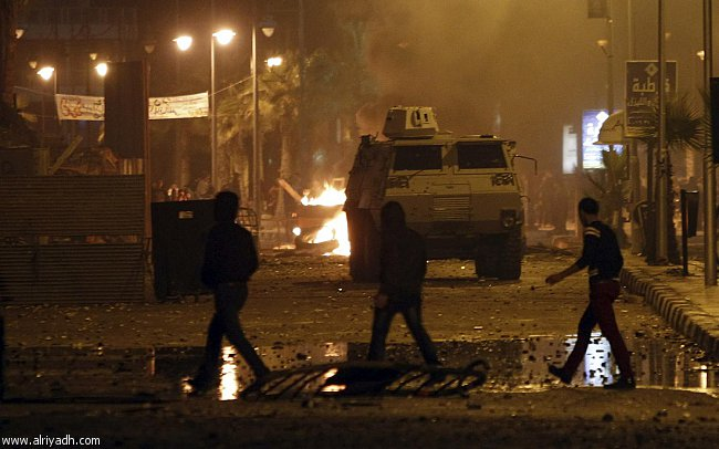 اخبار استمرار الاشتباكات الشرطة والمحتجين بورسيعد