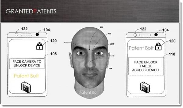 غوغل تحصل على براءة اختراع تأمين الشاشة بالوجه