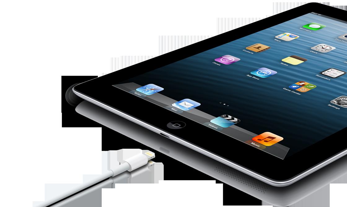 أعلنت شركة أبل هاتفها الجديد آيباد الجيل الرابع