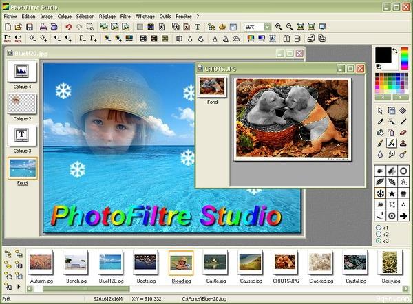 برنامج PhotoFiltre Studio لتعديل الصور