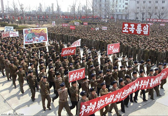 كوريا الشماليه استعداد صاروخاً لساحلها الشرقي