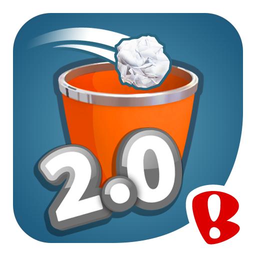 تحميل لعبة Paper Toss 2.0 للأندرويد