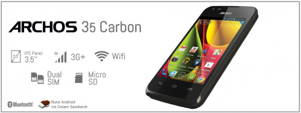 كشفت شركة Archos ثلاثة هواتف بواجهات أندرويد الأصلية