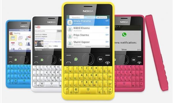 نوكيا تكشف الستار هاتفها الذكي الجديد اشا210