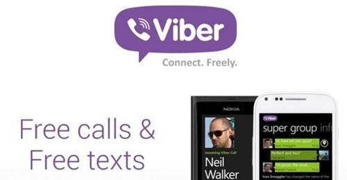 تطبيق Viber أندرويد تجاوز الهواتف