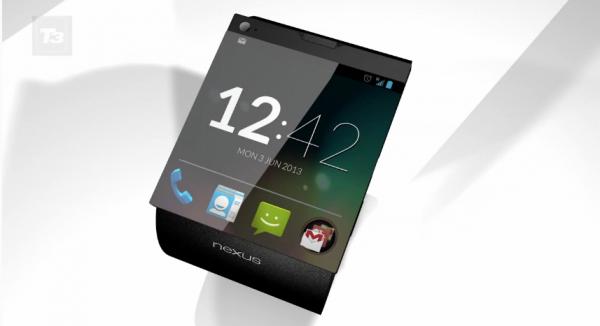 تسريب صوره لساعة غوغل الذكية Nexus Watch