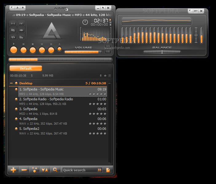 مشغل الصوتيات الروسي العملاق AIMP Classic v3.20 نسخة