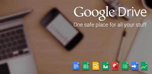 تطبيق Google Drive البطاقات والمزيد المزيد