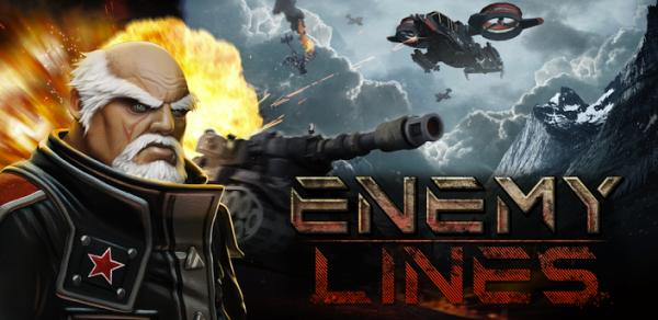 تحيمل لعبة الحروب الاستراتيجية Enemy Lines