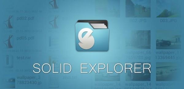 تحديث لتطبيق Solid Explorer