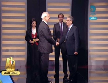 مناظرة رئاسية بتاريخ ابوالفتوح بالصور والفيديو