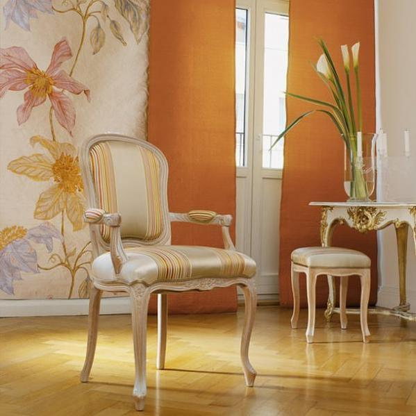 ديكورات باللون البرتقالي 2012