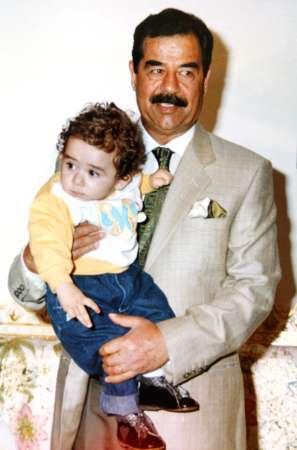 صور مصطفى قصي صدام حسين