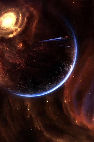 مجرات للاي خلفيات جوال ايفون