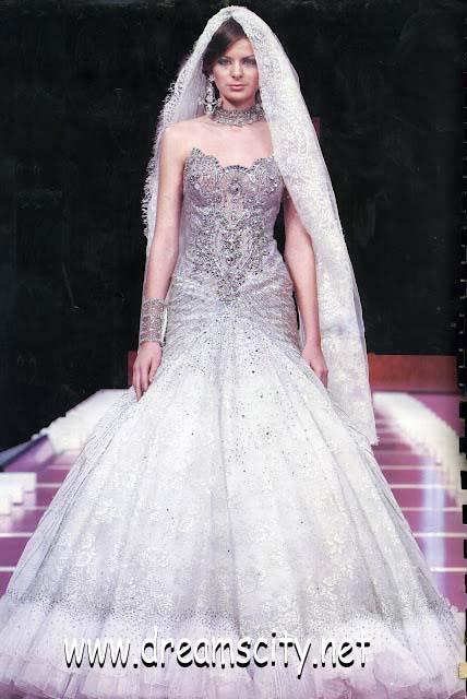 بالصور فساتين الزفاف السهرة 2012