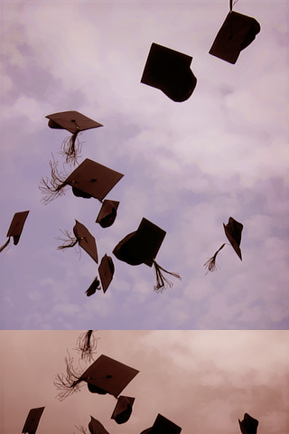 رمزيات بلاك بيري جديدة للتخرج