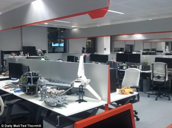 صور مكاتب جوجل من الداخل بلندن 2012| شاهد احدث صور لمكاتب جوجل في لندن 2012