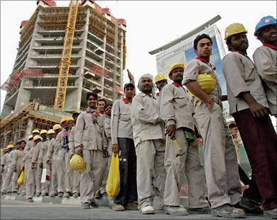 الغاء الكفيل بمناسبه العمال