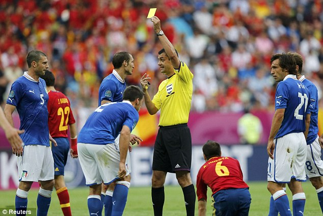 مباراة اسبانيا وايطاليا بداية اليورو 2012 مباراة ايطاليا