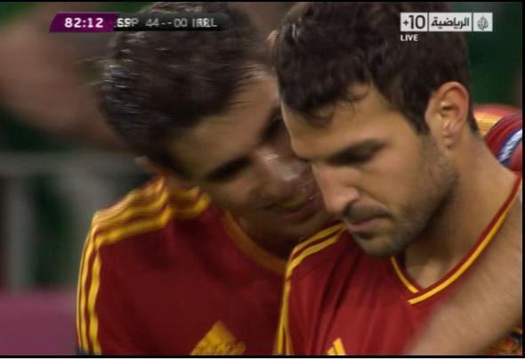 ويوتيوب اهداف مباراة اسبانيا وايرلندا اليورو 2012 الخميس