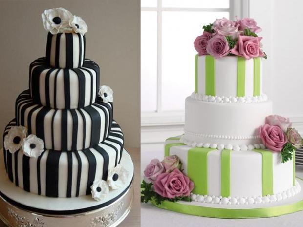 تصنعي كعكة زفافك تورتات زفاف