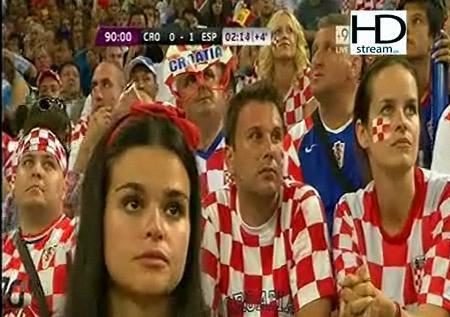 ويوتيوب اهداف مباراة اسبانيا وكرواتيا الاثنين 18/6/2012 وفيديو