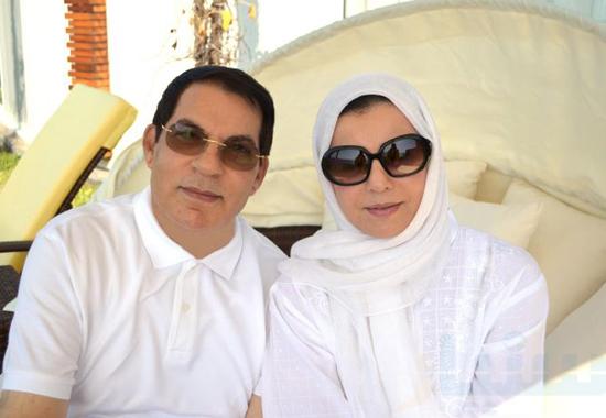 العابدين وزوجته السعوديه