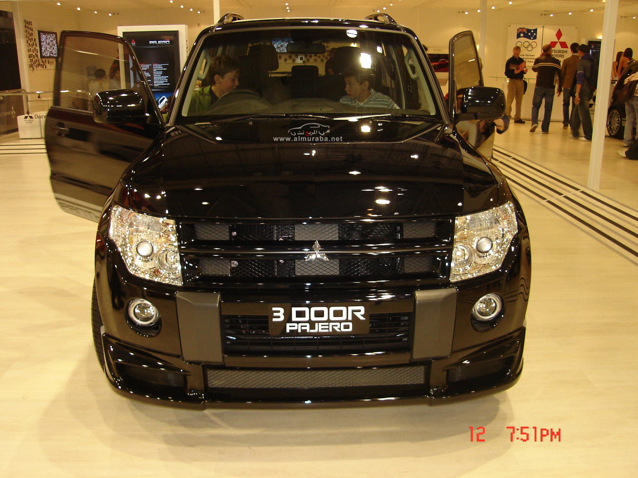 ميتسوبيشي باجيرو 2012 مواصفات واسعار Mitsubishi Pajero 2012