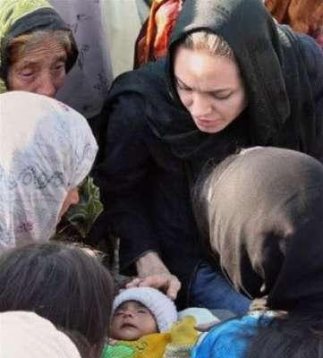 انجلينا زياراتها للعراق