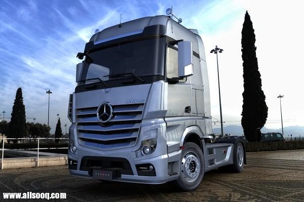 صور شاحنه تريلا مرسيدس اكتروس2013 Mercedes-Benz ACTROS 2013