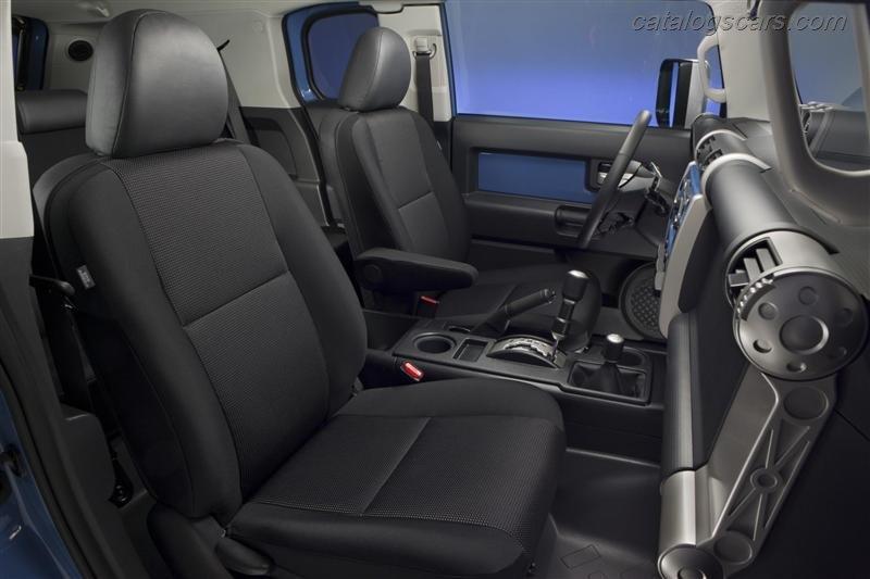 صور سيارة تويوتا كروزر 2013 خليجي صور الداخل