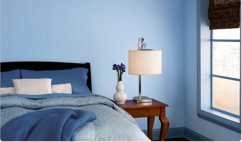 الوان جدران غرف النوم 2012 الوان الجدران لغرف