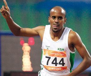العداء السعودي النهائي اولمبياد 2012
