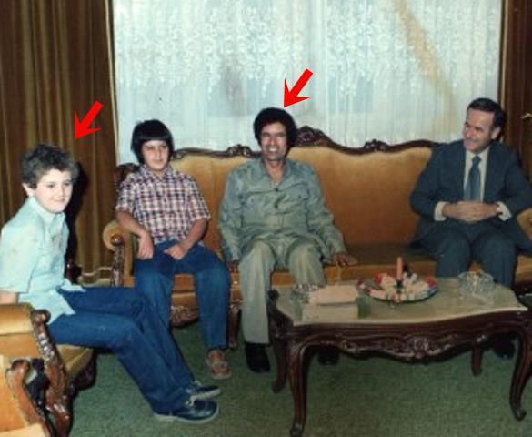 القذافي الاسد